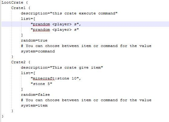 LootCrate - Discontinued - Plugin Releases - Sponge Forums