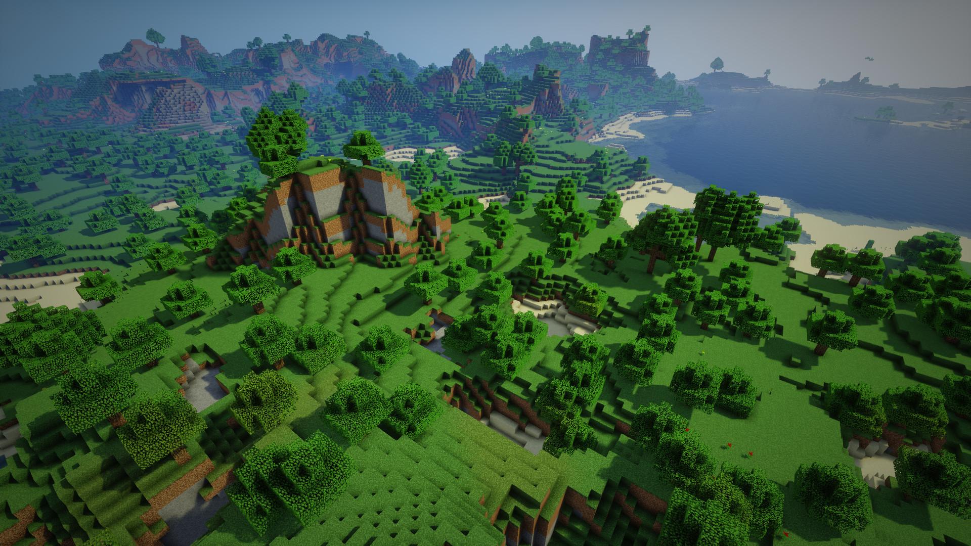 minecraft custom world generator mod